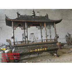 寺庙插香铜香炉制作,赣州铜香炉,信誉商家图片