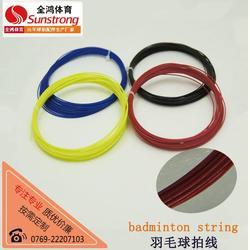 全鸿体育用品-品牌羽毛球拍线-江门羽毛球拍线图片