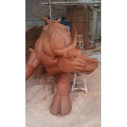 福光雕塑 情景铜牛雕塑制作-宁夏铜牛雕塑图片