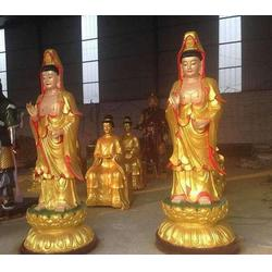 观音送子铜佛像制作|湖北观音佛像|福光雕塑图片