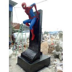 蜘蛛侠雕塑厂家|艺铭雕塑|江西蜘蛛侠雕塑图片