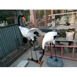 玻璃钢仙鹤雕塑厂家_湖北玻璃钢仙鹤雕塑_艺铭雕塑图片