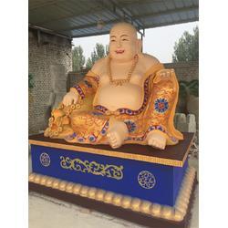 坐像彩绘弥勒佛雕塑-艺铭雕塑(在线咨询)天津坐像弥勒佛雕塑图片