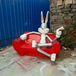 卡通座椅雕塑制作公司-吉林卡通座椅雕塑-艺铭雕塑图片