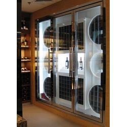 江苏不锈钢酒柜、伟江盛五金制品、不锈钢酒柜厂家图片
