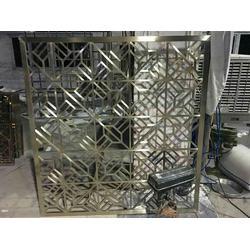 不锈钢屏风隔断厂家、伟江盛、重庆不锈钢屏风隔断图片