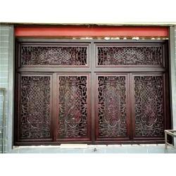 洛陽仿古門窗 華旭木雕廠 專業仿古門窗 訂做,廠家圖片