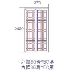 中式仿古门窗-安徽中式仿古门窗(华旭木雕)(查看)价格