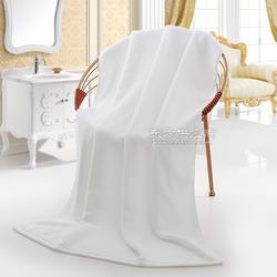 鑫尚宾馆酒店超市白浴巾美容纯棉吸水加厚沙滩家用大浴巾定制图片