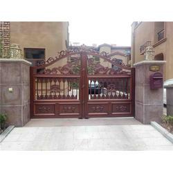铝艺门和护栏、安阳铝艺门和护栏、泉盛门业图片