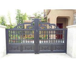南阳铝艺大门和护栏_铝艺大门和护栏_泉盛门业(优质商家)图片