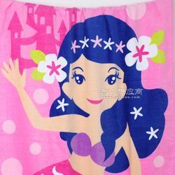 迎春雨毛巾生产厂家 海滩印花沙滩巾定做 颜色艳丽 高品质毛巾图片