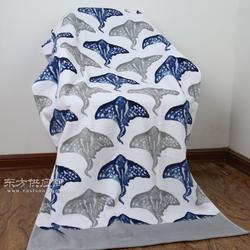 迎春雨纯棉海滩沙滩浴巾品牌 孚日外协厂家浴巾图片