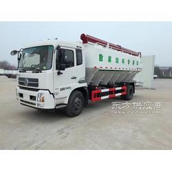 东风12吨散装饲料车图片