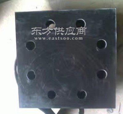 橡胶四孔减震支座钢结构网架橡胶支座图片