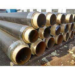 聚氨酯保温钢管-保温钢管厂家-预制直埋聚氨酯保温钢管图片