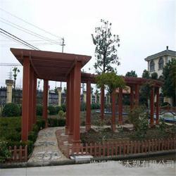 优质木塑廊架采购|木塑廊架定做|大兴区木塑廊架图片