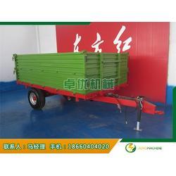 自卸4吨农用拖车、卓优机械(在线咨询)、4吨农用拖车图片