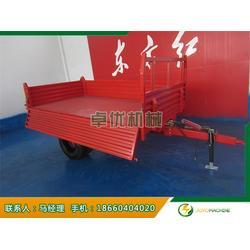双轴6吨农用拖车、卓优机械(在线咨询)、6吨农用拖车图片