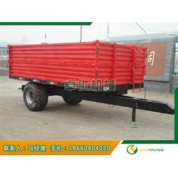 平板农用拖车-平板农用拖车报价-卓优机械10年品牌图片
