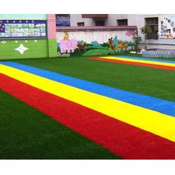 莱芜幼儿园彩色草坪-济南耀动-幼儿园彩色草坪包工包料图片