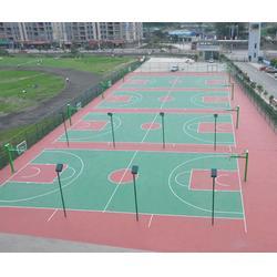 硅pu篮球场|济南耀动|青岛硅pu篮球场图片