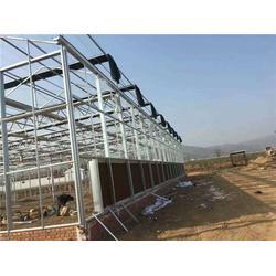 太原几字钢玻璃温室、欣荣温室工程 (在线咨询)、玻璃温室图片