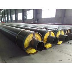 保温钢管-华盾管道(优质商家)黑黄夹克聚氨酯保温钢管图片