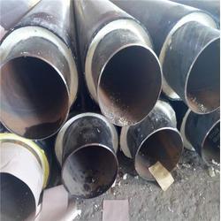 保温钢管,华盾管道,聚氨酯直埋保温钢管图片