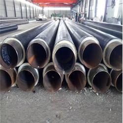 晋城保温钢管-华盾管道厂家直销-钢套钢保温钢管图片
