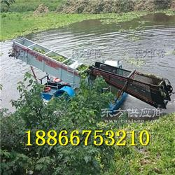 江河湖泊河道保洁船,水下清洗垃圾打捞上岸水草机械图片