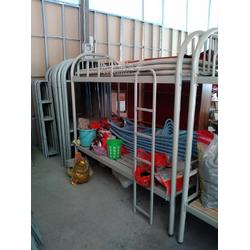 出售上下铺铁架床厂家高低宿舍高低床图片
