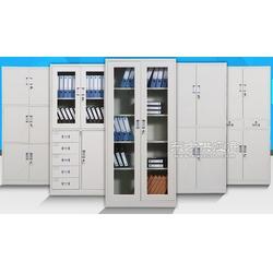 厂家直销铁皮柜更衣柜玻璃柜等柜子图片