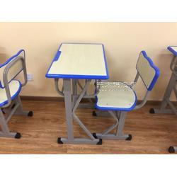 辅导班课桌椅厂家出售长条桌培训桌学生桌图片