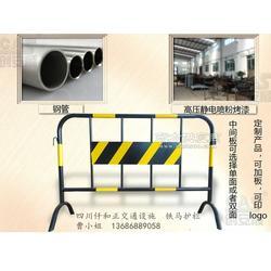 移动铁马护栏移动警示护栏交通铁马护栏 详情图片