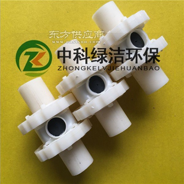 厂家供应污水处理单孔膜曝气器 管式曝气器整套图片