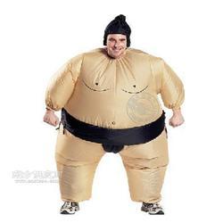 充气服装丨充气相扑服丨充气胖子武士服丨搞笑派对充气服图片