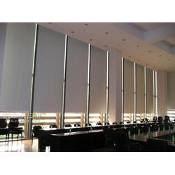 厂家定做成品窗帘办公室工程阳光面料手动卷帘免费上门测量安装图片