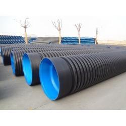西宁双壁波纹管,山东中大塑管,优质双壁波纹管图片