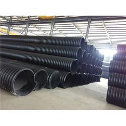山东中大塑管管材、hdpe钢带增强波纹管生产厂家图片