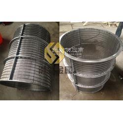 厂家报价刮刀式过滤器滤网螺旋挤压机专用滤筒楔形丝滤网图片