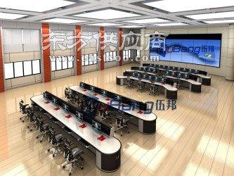 wubang伍邦调度台伍锋系列伍邦电网调度主控桌 控制主控桌 控制中心操作台图片