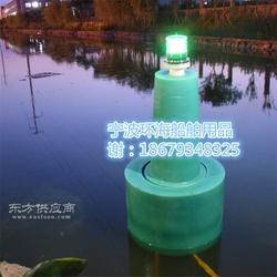 水上浮标加工 河道定点塑料浮标 海上专用航标灯图片