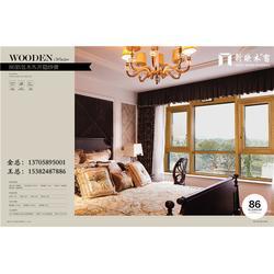 铝包木窗-新欧铝包木门窗-铝包木窗一平米多少钱图片