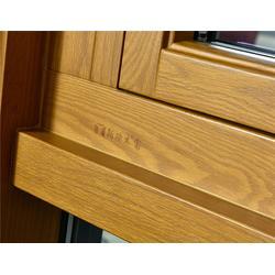 铝木门窗生产厂-铝木门窗-新欧木窗口碑好图片