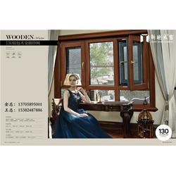铝木复合门窗厂家_铝木复合门窗_新欧木包铝门窗图片