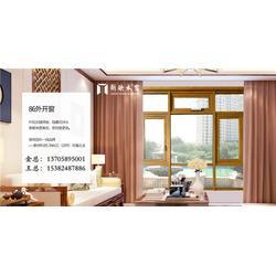 浙江新欧铝木门窗-中式铝包木门窗定制-烟台中式铝包木门窗图片