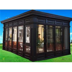 新欧铝木门窗(图)、玻璃阳光房生产厂家、玻璃阳光房图片