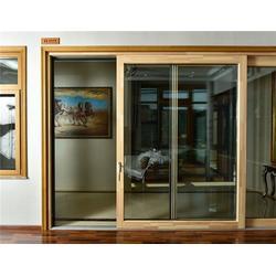 新欧木窗深受欢迎|180木铝复合推拉门加盟费用图片