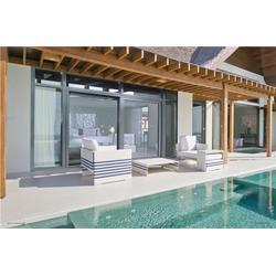 实木推拉门-新欧铝木门窗深受欢迎-实木推拉门加盟图片